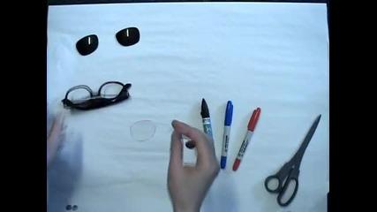 Как да си направим 3d очила