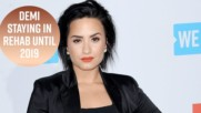 An update on Demi Lovato in rehab