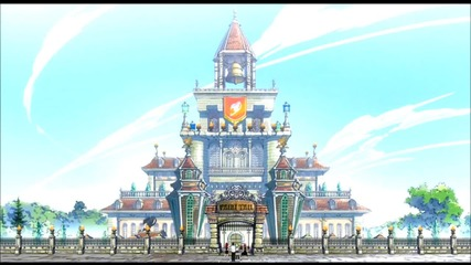 Fairy Tail - Busy Street