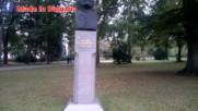 Паметник на Захари Стоянов в Борисовата градина в София