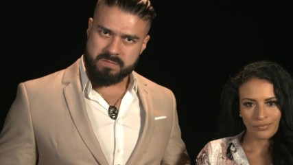 Andrade & Zelina Vega have a message for Apollo Crews: WWE.com Exclusive, June 26, 2019