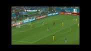 Мексико 1 - 0 Камерун 13.06.14