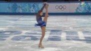 Феноменалното изпълнение на 15-годишната Юлия Липницкая