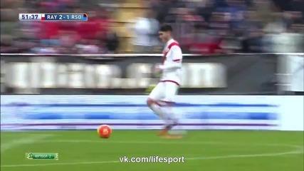 Райо Валекано 2:2 Реал ( Сосиедад ) 03.01.2016