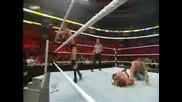 Wwe Ninght of Champions троина заплаха John cena vs Triple h vs Rendy Ortan