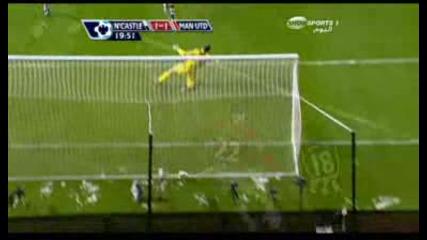 Нюкасъл 1 - 1 Манчестър Юнайтед - Rooney