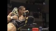 G1 CLIMAX Hiroshi Tanahashi vs. Manabu Nakanishi 08/13/08