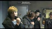 [130308] U-kiss - Man Man Ha Ni [live @ Boom's Young Street]