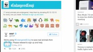 Emojis for Endangered Animals Can Help Conservation Efforts