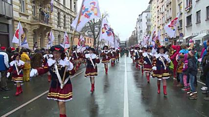 Germany: Mainz carnival parade pokes political fun at world leaders