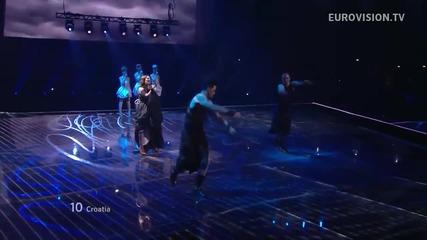 Хърватия / Nina Badric - Nebo / Live - Евровизия 2012