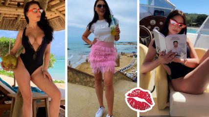 Лятото на Лили Ангелова - чар, стил, класа и BG красота в Барселона
