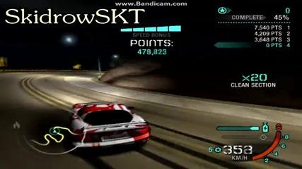 Skidrow S K T - Gold Valley Run | No Backward - 26.697.300 [ W R ]