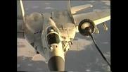 Миг - 29 Дозареждане В Полет
