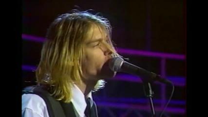 Nirvana - Rape me [hd] (live on French Tv 1994)