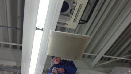 Как се поставя филтър на климатик сплит Treo - касета
