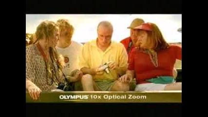 Много дива реклама на olimpus