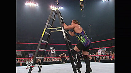 Jeff Hardy vs. Rob Van Dam – Title Unification Ladder Match: Raw, July 22, 2002 (Full Match)