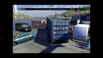 Scania Truck Driving Simulator-пристанището