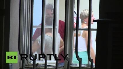 Германия: Бежанците се местят в убежище в бившата градска зала