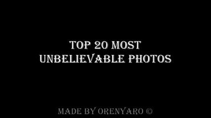 Топ 20 Изумяващи картинки