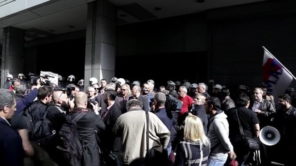 Greece: Protesters storm the Finance Ministry over pension reforms