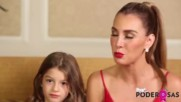 Elizabeth Gutirrez quiere que su hija Kailey aprenda de las mujeres ms poder