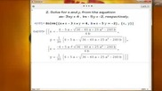 Wolfram Mathematica Mathematica Tutorial Basic Algebra - Part 1
