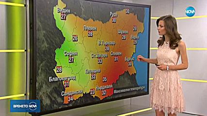 Прогноза за времето (29.07.2019 - сутрешна)