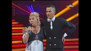 Dancing Stars - Албена и Петьо елиминации 2-ри танц (27.03.2014г.)