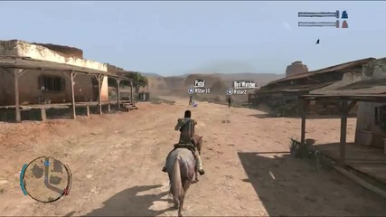 Red Dead Redemption Multiplayer Trailer