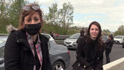 Italy: Restaurant owners block highway near Florence in anti-restrictions protest