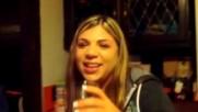 Gionna eats a Trinidad Moruga Scorpion Pepper