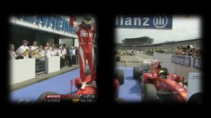 Bulrace Gp of Germany 2010 highlights