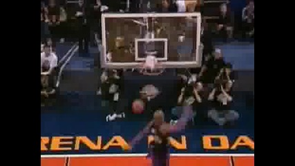 Vince Carter -Slam Dunk Contest - Забивки