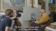 104-годишен художник се превърна във Фейсбук звезда