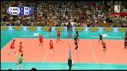 Световна лига: България 3:1 Белгия 10.07.2015