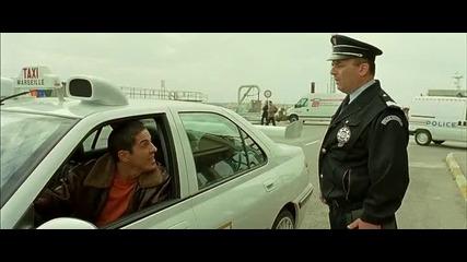 Епично паркиране пред полицията - откъс от Такси 3