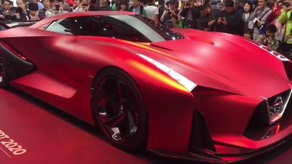 Представянето на зашеметяващата Nissan 2020!