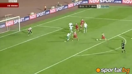 11.10.2001 България - Уелс 0:1