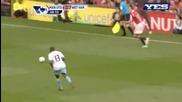 Manchester United 3:0 West Ham - Berbatov goal 28.08.2010