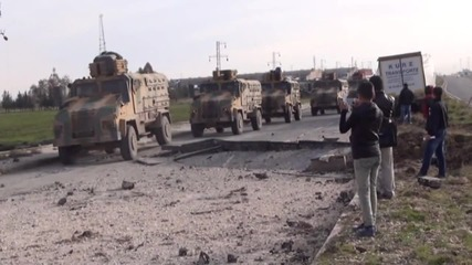 Turkey: Huge crater caused by bomb attack on police vehicle