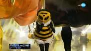 Пчелата изпълнява Високо на ФСБ | Маскираният певец