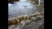Река Глазне в Банско