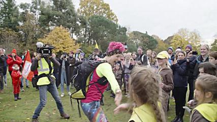 Woman finishes BAREFOOT run across UK equivalent to 90 marathons