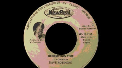 Dave Robinson - Redemption Time