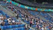 Атмосферата преди Финландия - Белгия