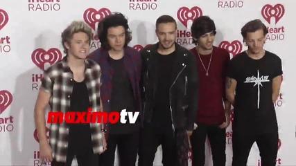 One Direction на червения килим / iheart radio /