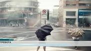 Тайфунът Чан-хом достигна китайските брегове