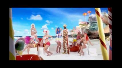 Превод! Katy Perry - California Girls Music Video